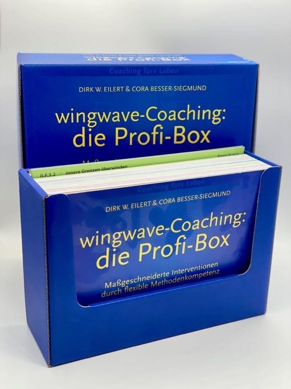 Cardboard box: Assorted flashcards